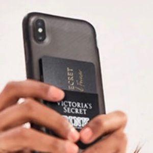 Victoria's Secret/PINK Stick on Card Slot